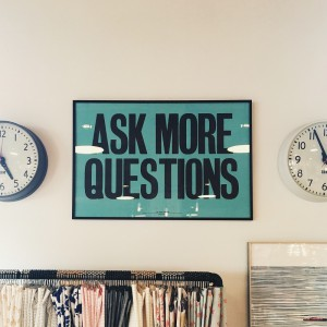 Ace your interview by asking more questions