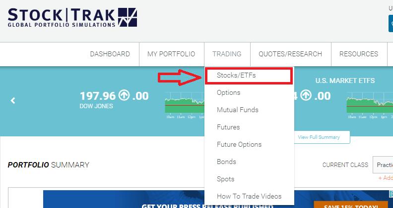 StockTrak Student User Guide - StockTrak
