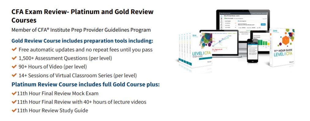 Wiley CFA Review Course Materials