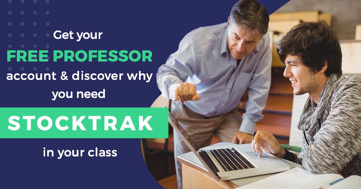 StockTrak Free Professor Account