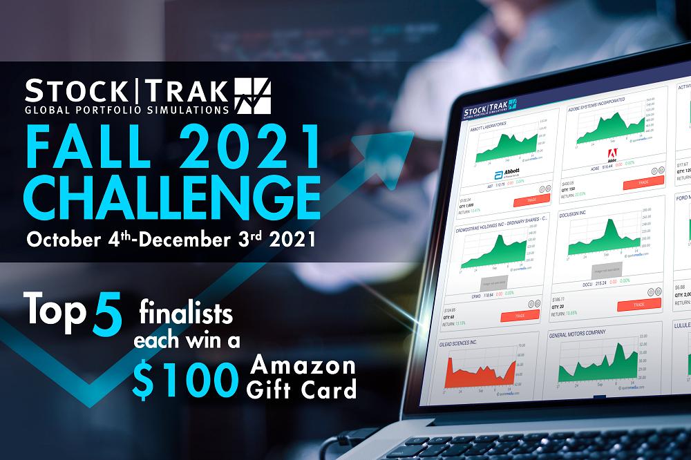 StockTrak National Fall 2021 Challenge